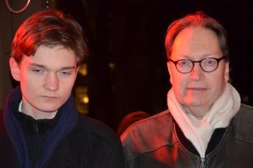 Horace Engdahl med son