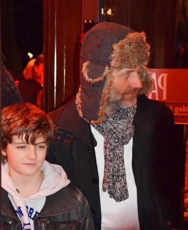 Björn Kjellman med son