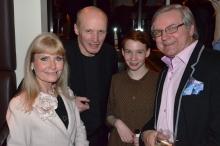 Ann och Leif Schulman med Maksim Lapitskii