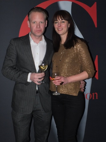 Daniel Nyhlén med Mia Jorpes