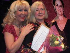 Pia Johansson med vinnare