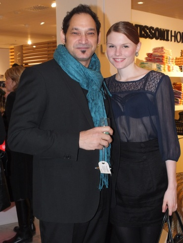 Francesco Valentino och June Sofie Thorsson