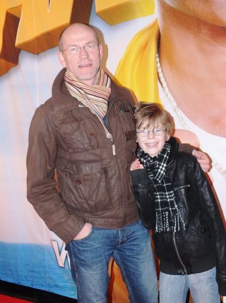 Thomas Hedengran med son