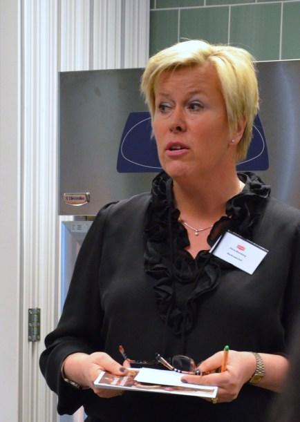 MC Petra Blomberg