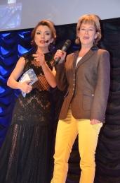 Kulturminister Lena Adelsohn Liljeroth & Alexandra Pascalidou