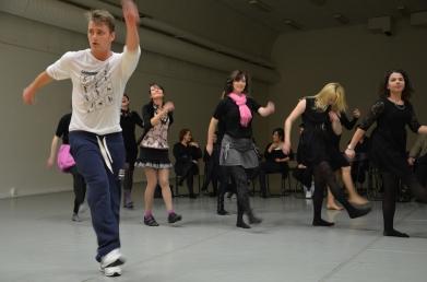 Aleksej Vorobjov (Alex Sparrow) dance teacher