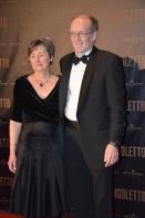 K G Bergström med fru