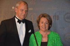Jan Bruzelius och Peggy Bruzelius