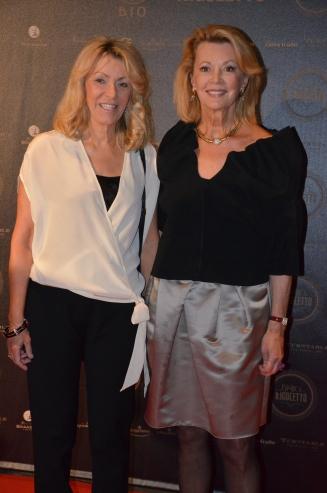 Mia Tamm och Kerstin Sandels