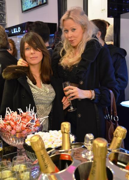 champagne med tilltugg