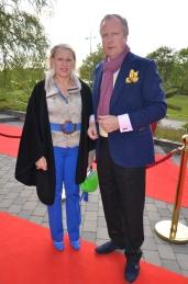 Färgglada VIP gäster