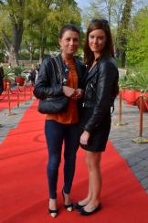 VIP damer på röda mattan