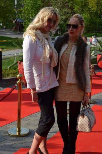 Charlotte Hammar och Heidi Ershult