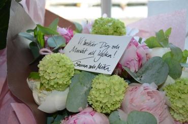 Lycka till blommor