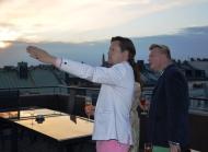 Mikael Aringsjö visa var Östermalmshallen ligger