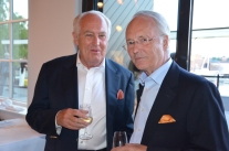 Jan Carlzon med sällskap