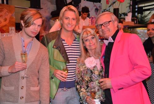 Ann & Leif Schulman med vänner