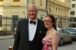 Sten Nordin med fru