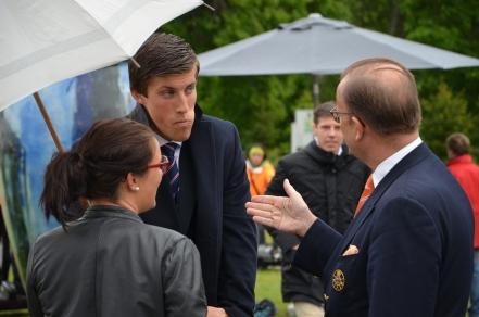 Anton Aberle i samspråk med Claes Boltenstern & Anna Benson