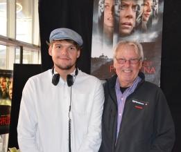 Lars Amble med Vincent Amble