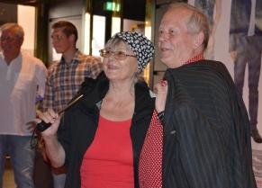 Harriet Andersson med man