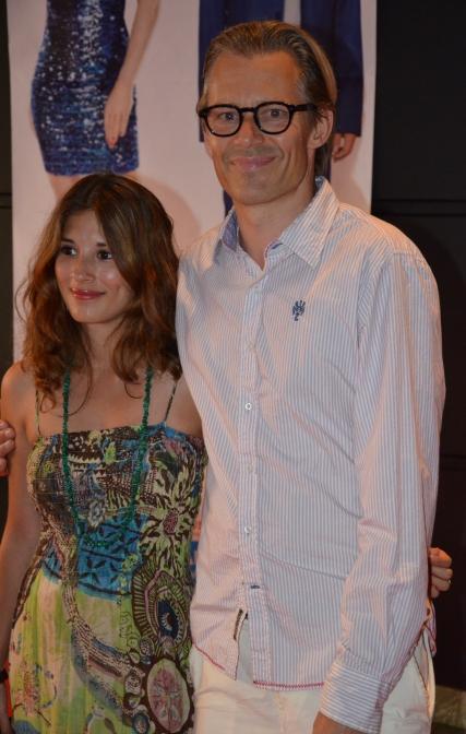 Peter Engman med Maria Engman