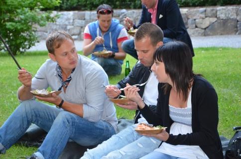 Picknick på efterfesten