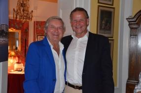 Leif Schulman med gammal vän