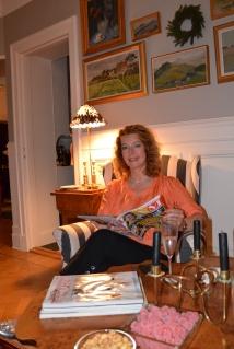 Larisa Johansson med Svensk Damtidning