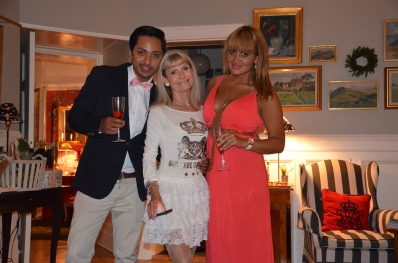 Ann Schulman & Yessica Thor med F Alexander Catalan