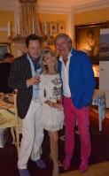 Mikael med Ann & Leif Schulman