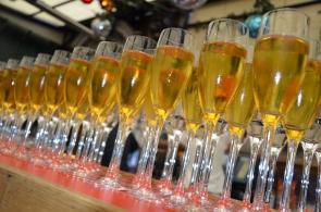Champagne fördrink