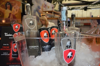 Lamborghini Energy Drink & Vodka sponsor
