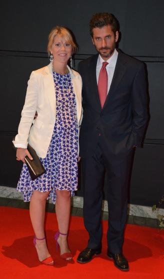 Jens Lapidus med fru