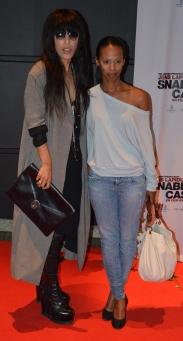 Loreen med vän
