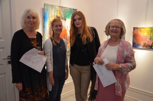 Vernissage gäster