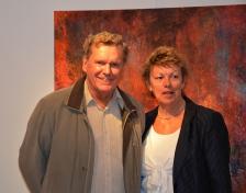 Stefan Grudin med fru