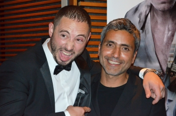Matis Varela med Babak Najafi