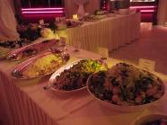 Middagsbuffen på Cafe Opera