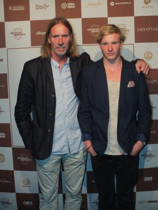 Staffan Olsson med son