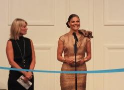 HKH Prinsessan Victoria inviger Mercedes-Benz Fashion week
