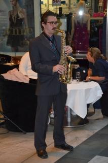 Saxofon underhållning