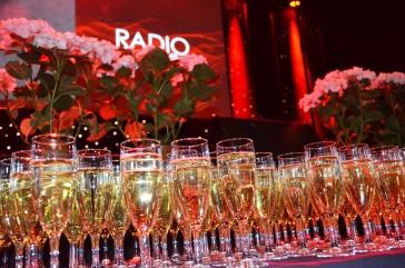 Framdukad champagne