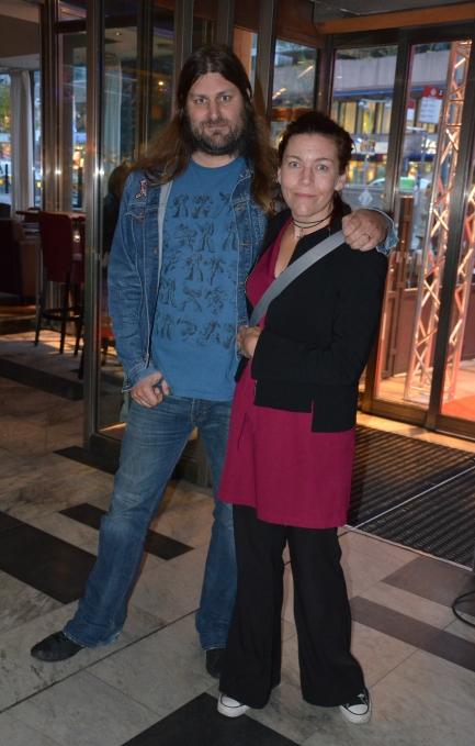 Orvar Säfström med fru Miriam