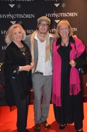 Vicky von der Lancken med son, och sällskap
