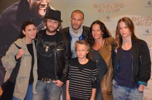 Anna Olausson, Martin Boman, Christopher Taylor, Isak Nilsson, Malin Berghagen & Linn Nilsson