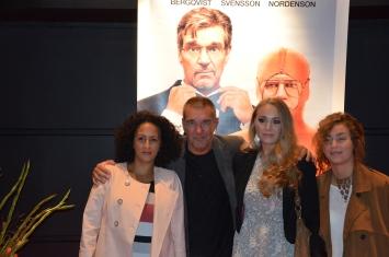 Kjell Bergqvist med familj