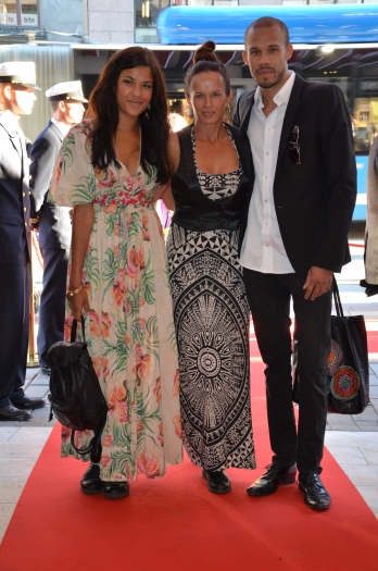 Malin Berghagen & familj
