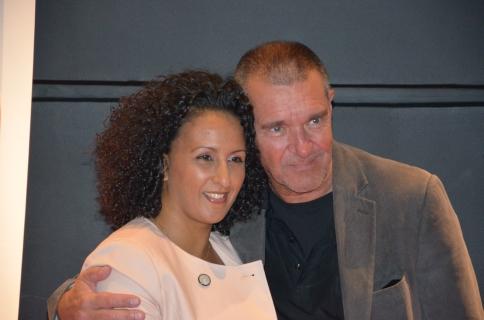 Kjell Bergqvist med fru