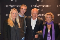 Jan Carlzon med familj